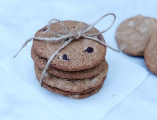 100% Whole Grain Chocolate Chip Cookies