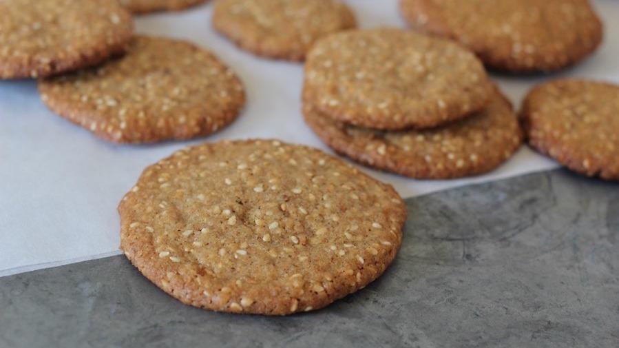 sesame-cookies
