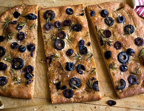 Martha Rose Schulman's Whole Wheat Focaccia