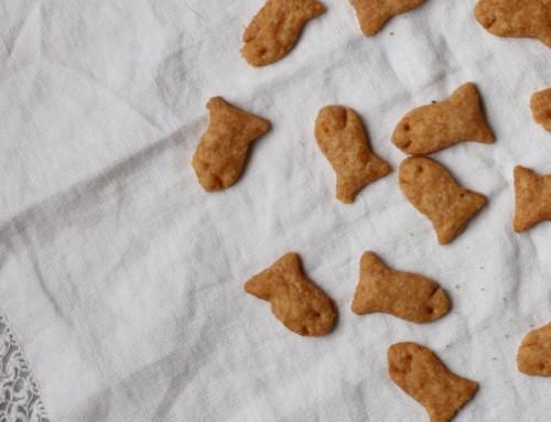 Whole Wheat Cheddar Goldfish Crackers