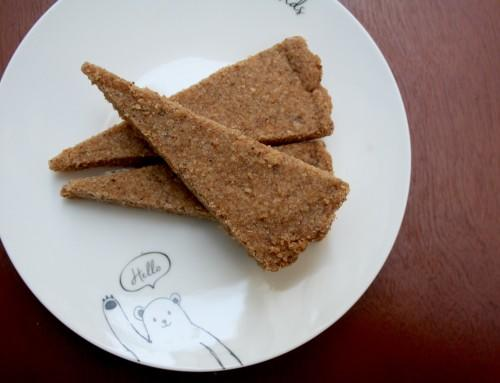 Whole Wheat Brown Butter Shortbread
