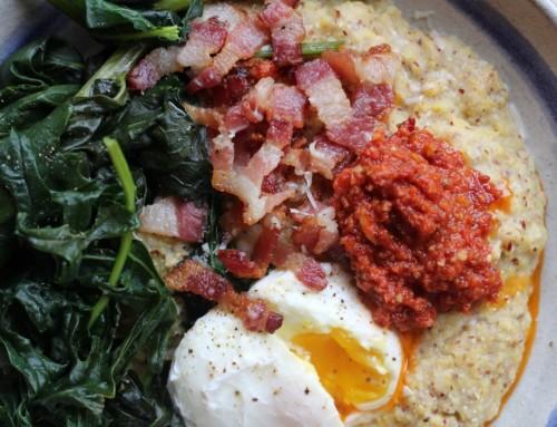 Savory Breakfast Polenta