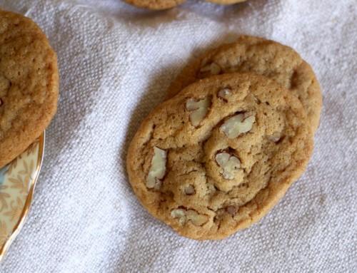 Andrew Chaney's Pecan Tea Cookies