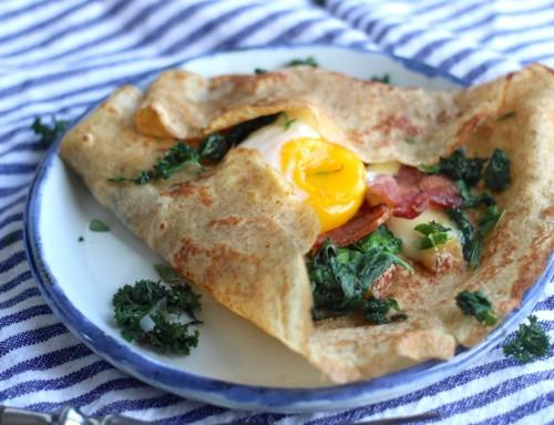 Whole Wheat Breakfast Crepes